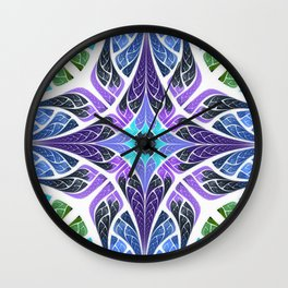 Hearts Intertwined Wall Clock
