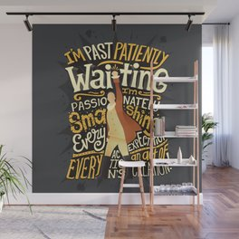 Smashing Every Expectation Wall Mural
