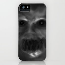 It sees you in the dark iPhone Case