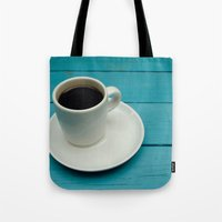 coffe Tote Bags featuring Coffe by Camaracraft