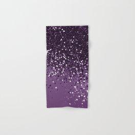 PURPLE Glitter Dream #1 #shiny #decor #art #society6 Hand & Bath Towel