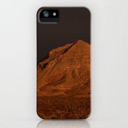 Desert Alpenglow iPhone Case