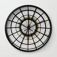 milan Wall Clocks featuring Milan by Alev Takil