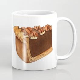 Pecan Pie Slice Coffee Mug