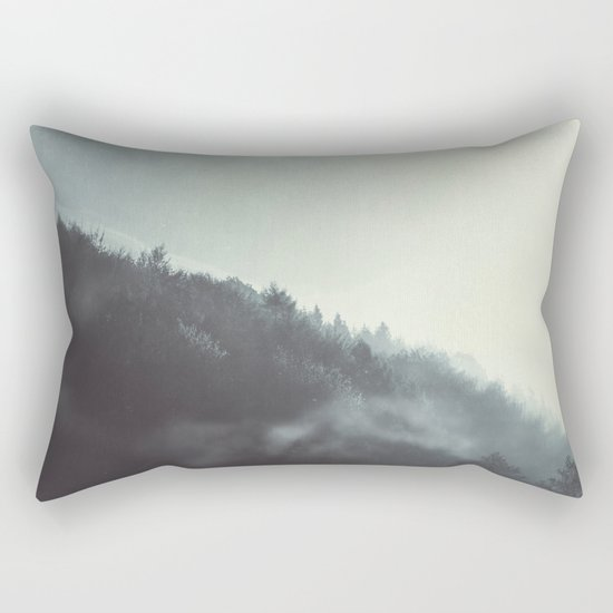 Damp Wilderness Rectangular Pillow