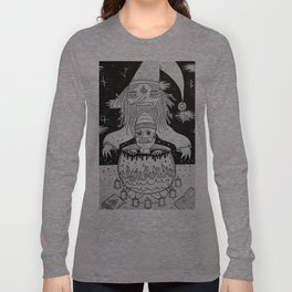 Jumped out the sorcerers cauldron. Long Sleeve T-shirt