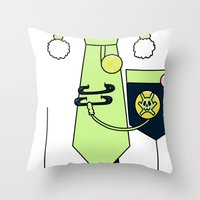 dmmd Throw Pillows featuring Noiz Outfit DMMD by Bunny Frost