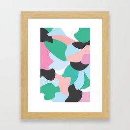 Colourfully Minimal Framed Art Print