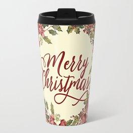 Vintage Christmas Travel Mug