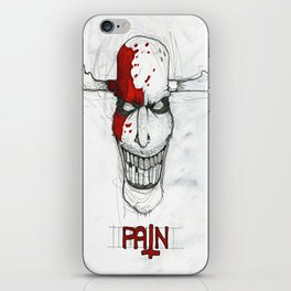 """Pain"" iPhone Skin"
