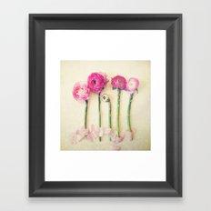 Hello Little Flowers Framed Art Print