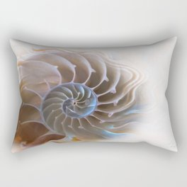Natural spiral Rectangular Pillow