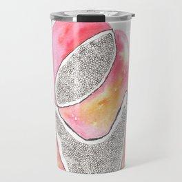 Scandi Micron Art Design | 170412 Telomeres Healing 31 Travel Mug