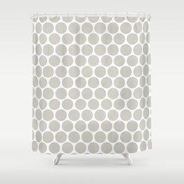 Polka dot Crazy Shower Curtain