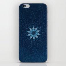 Crystal Flower Mandala iPhone & iPod Skin