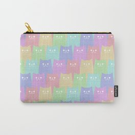 Cats (washed out) Carry-All Pouch
