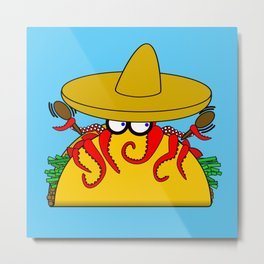 Tako Tuesday Metal Print