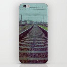 Railroad. Russia. iPhone Skin