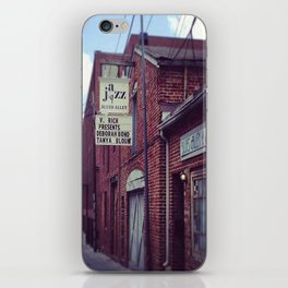 Blues Alley (Washington, DC) iPhone Skin