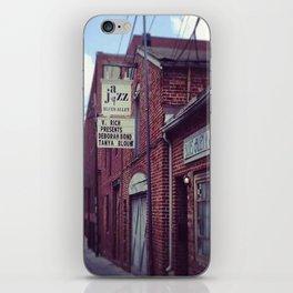 Blues Alley (Washington, DC) iPhone Skin