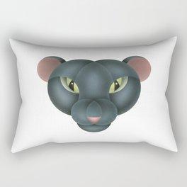 Compasses-panther Rectangular Pillow