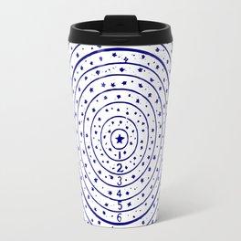 The Circling the Sun Blues Travel Mug