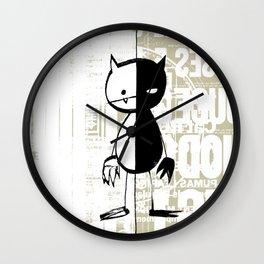 minima - milieu Wall Clock