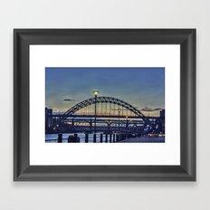 Quayside Sunset Framed Art Print