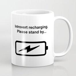 Introvert Batteries Recharging Coffee Mug