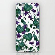 Violets #society6 #decor #buyart iPhone & iPod Skin