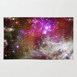 NGC 281 nebula with active star formation (NASA/Chandra) Rug