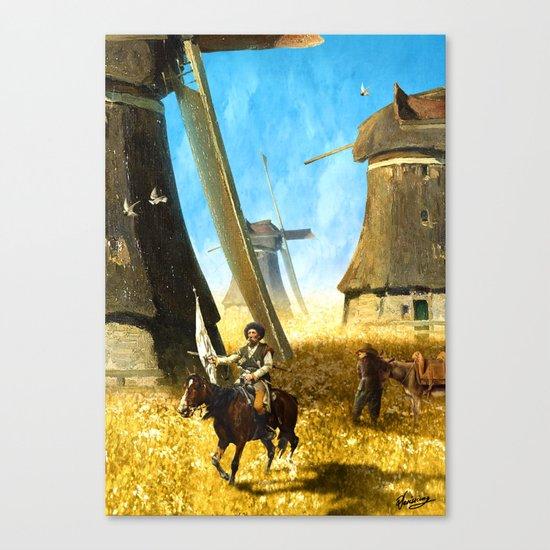 Giants on the Plains Canvas Print