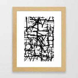 Abstract1on Framed Art Print