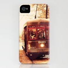 St Charles Street Car - New Orleans iPhone (4, 4s) Slim Case