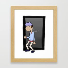 Bangin' Framed Art Print