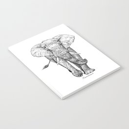 African Elephant Notebook