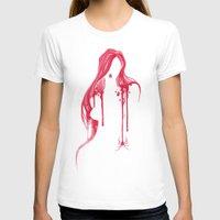 black widow T-shirts featuring Black Widow by Waynem