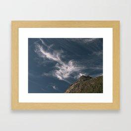 sky music Framed Art Print