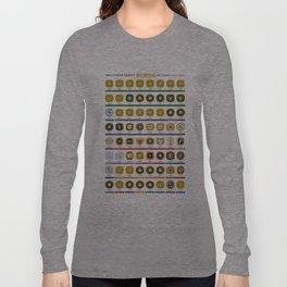 NBA Championship Rings Long Sleeve T-shirt