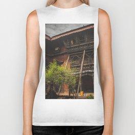Architecture of Kathmandu City 001 Biker Tank