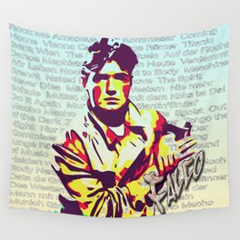 Falco Discography Wall Tapestry