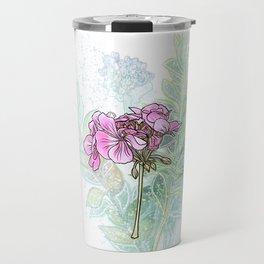 Dainty Petals Travel Mug