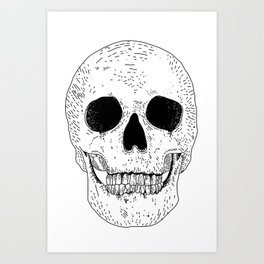 Super Skull Art Print