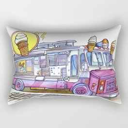 Love NYC's everything Rectangular Pillow