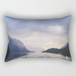 A Cruise Through Doubt Rectangular Pillow