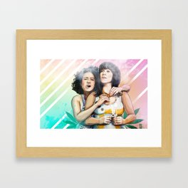 These Are The Broads You Are Looking For Framed Art Print