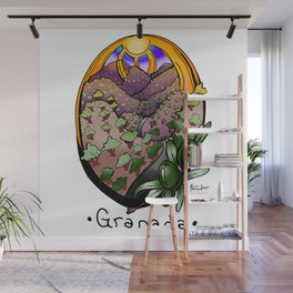 Olive orchards in Granada Wall Mural