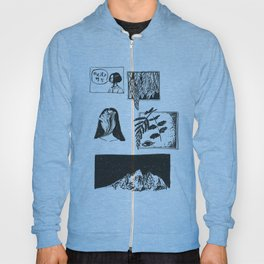 Comic Strip Hoody