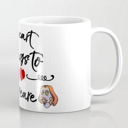 Heart Belongs to Shakespeare 2 (w/figure) Coffee Mug