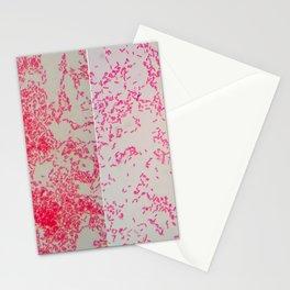 """GRAM NEGATIVE"" Pattern MICROSCOPIC ...Micro  Stationery Cards"